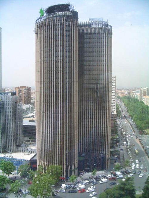 Edificio torre Europa